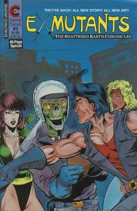 Cover Thumbnail for Ex-Mutants The Shattered Earth Chronicles (Malibu, 1988 series) #3