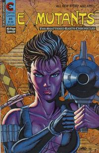 Cover Thumbnail for Ex-Mutants The Shattered Earth Chronicles (Malibu, 1988 series) #4