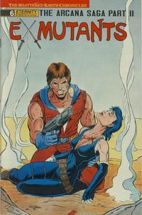 Cover Thumbnail for Ex-Mutants The Shattered Earth Chronicles (Malibu, 1988 series) #6