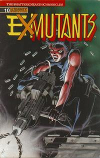 Cover Thumbnail for Ex-Mutants The Shattered Earth Chronicles (Malibu, 1988 series) #10