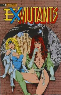 Cover Thumbnail for Ex-Mutants The Shattered Earth Chronicles (Malibu, 1988 series) #14