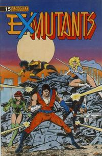 Cover Thumbnail for Ex-Mutants The Shattered Earth Chronicles (Malibu, 1988 series) #15