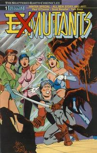 Cover Thumbnail for Ex-Mutants Winter Special (Malibu, 1989 series) #1