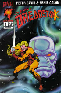 Cover Thumbnail for Dreadstar (Malibu, 1994 series) #1 [Regular Edition]