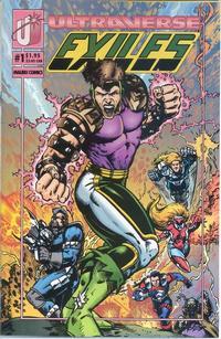 Cover Thumbnail for Exiles (Malibu, 1993 series) #1 [Regular Edition]