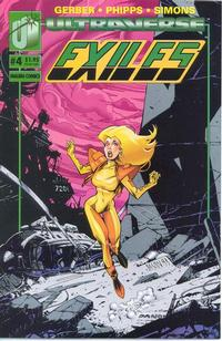 Cover Thumbnail for Exiles (Malibu, 1993 series) #4