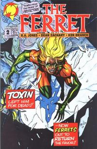 Cover Thumbnail for The Ferret (Malibu, 1993 series) #2 [Direct Edition]