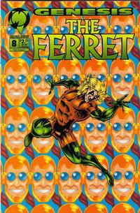 Cover Thumbnail for The Ferret (Malibu, 1993 series) #8 [Direct Edition]