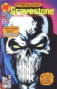 Cover Thumbnail for Gravestone (Malibu, 1993 series) #1 [Direct Edition]