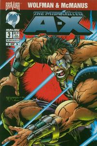 Cover Thumbnail for The Man Called A-X (Malibu, 1994 series) #3