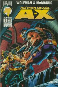 Cover Thumbnail for The Man Called A-X (Malibu, 1994 series) #4