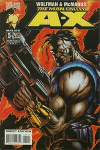 Cover Thumbnail for The Man Called A-X (Malibu, 1994 series) #5