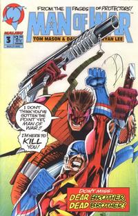 Cover Thumbnail for Man of War (Malibu, 1993 series) #3 [Direct Edition]