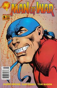 Cover Thumbnail for Man of War (Malibu, 1993 series) #5