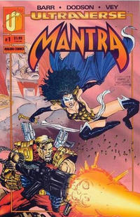 Cover Thumbnail for Mantra (Malibu, 1993 series) #1 [Direct]