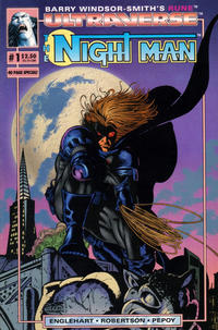 Cover Thumbnail for The Night Man (Malibu, 1993 series) #1 [Regular Edition]