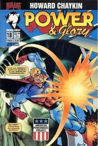 Cover Thumbnail for Power & Glory (Malibu, 1994 series) #1 [Cover B]