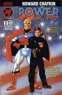 Cover Thumbnail for Power & Glory (Malibu, 1994 series) #2