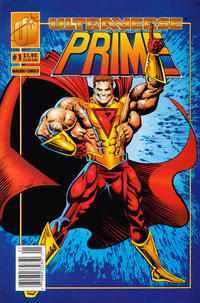 Cover Thumbnail for Prime (Malibu, 1993 series) #1 [Newsstand]