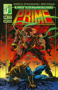 Cover Thumbnail for Prime (Malibu, 1993 series) #4 [Prime Cover - Direct Market]