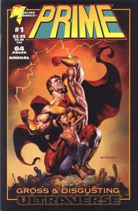 Cover Thumbnail for Prime: Gross and Disgusting [Prime Annual] (Malibu, 1994 series) #1