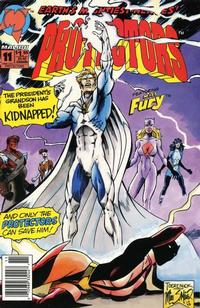 Cover Thumbnail for Protectors (Malibu, 1992 series) #11 [newsstand]