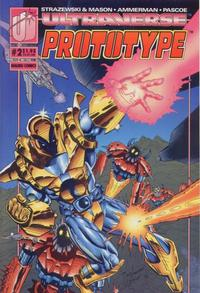 Cover Thumbnail for Prototype (Malibu, 1993 series) #2 [Direct]