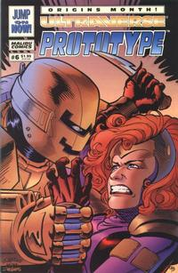 Cover Thumbnail for Prototype (Malibu, 1993 series) #6 [Direct]