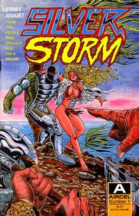 Cover Thumbnail for Silver Storm (Malibu, 1990 series) #1