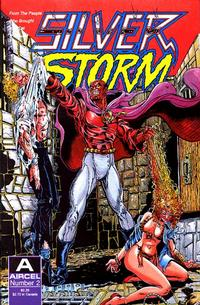 Cover Thumbnail for Silver Storm (Malibu, 1990 series) #2