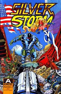 Cover Thumbnail for Silver Storm (Malibu, 1990 series) #4