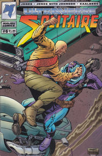 Cover for Solitaire (Malibu, 1993 series) #6