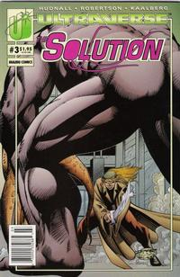 Cover Thumbnail for The Solution (Malibu, 1993 series) #3 [Newsstand]