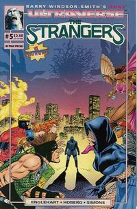 Cover Thumbnail for The Strangers (Malibu, 1993 series) #5 [Direct Edition]
