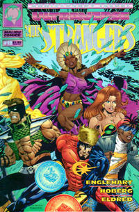 Cover for The Strangers (Malibu, 1993 series) #12
