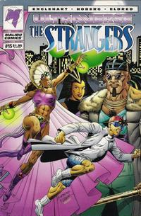 Cover for The Strangers (Malibu, 1993 series) #15 [Direct Edition]