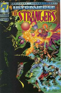 Cover for The Strangers (Malibu, 1993 series) #16 [Direct Edition]