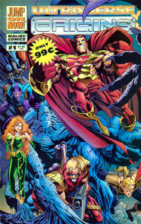 Cover Thumbnail for Ultraverse Origins (Malibu, 1994 series) #1 [Direct Gatefold]