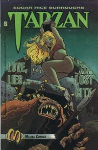 Cover Thumbnail for Tarzan: Love, Lies and the Lost City (Malibu, 1992 series) #2