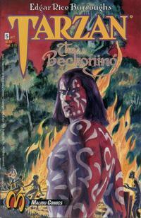 Cover Thumbnail for Tarzan: The Beckoning (Malibu, 1992 series) #5