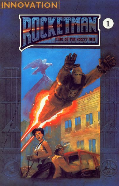 Cover for Rocket Man: King of the Rocket Men (Innovation, 1991 series) #1