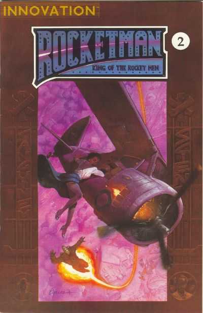 Cover for Rocket Man: King of the Rocket Men (Innovation, 1991 series) #2