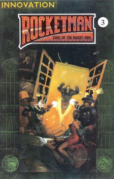Cover for Rocket Man: King of the Rocket Men (Innovation, 1991 series) #3