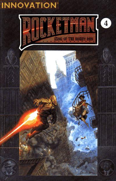 Cover for Rocket Man: King of the Rocket Men (Innovation, 1991 series) #4