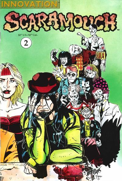 Cover for Scaramouch (Innovation, 1990 series) #2
