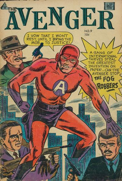 Cover for The Avenger (I. W. Publishing; Super Comics, 1958 series) #9