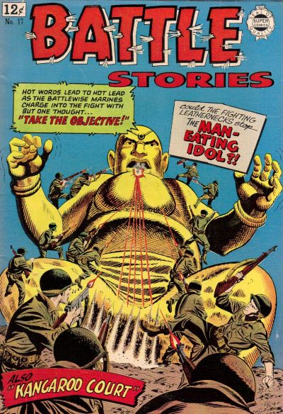 Cover for Battle Stories (I. W. Publishing; Super Comics, 1963 series) #17