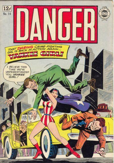 Cover for Danger (I. W. Publishing; Super Comics, 1963 series) #16
