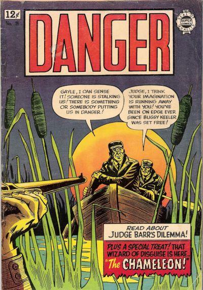 Cover for Danger (I. W. Publishing; Super Comics, 1963 series) #18