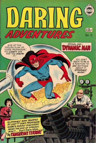 Cover for Daring Adventures (I. W. Publishing; Super Comics, 1963 series) #11